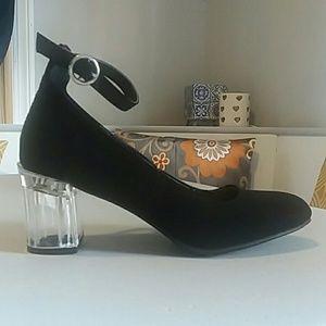 Nicole clear heels